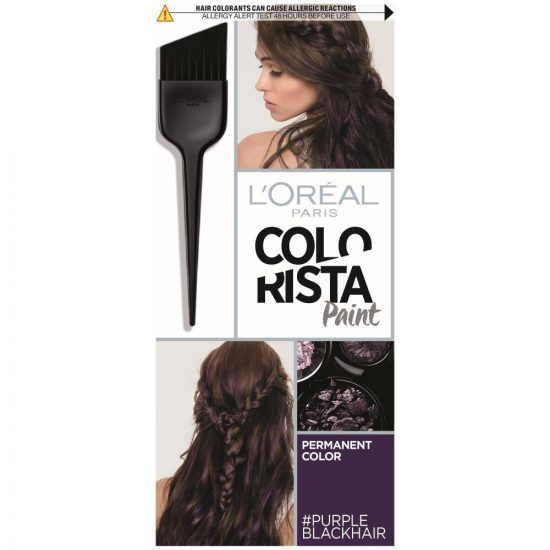 L'Oreal Paris COLORISTA PAINT 3.16 PURPLE BLACK