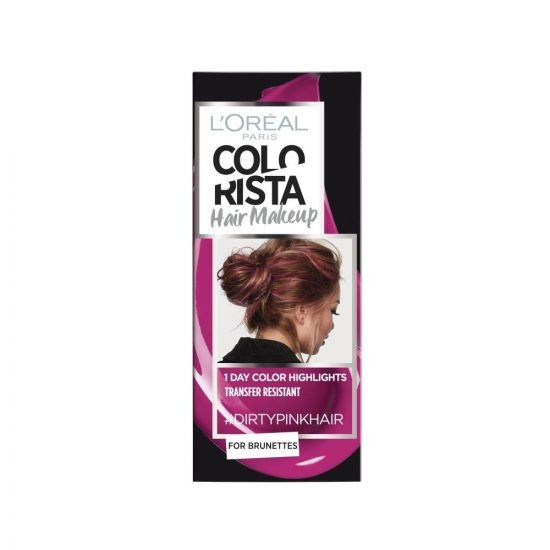 L'Oreal Paris COLORISTA HAIR MAKEUP DIRTYPINK