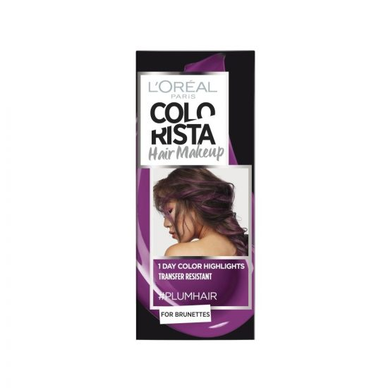 L'Oreal Paris COLORISTA HAIR MAKEUP PLUM