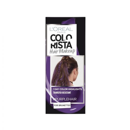L'Oreal Paris COLORISTA HAIR MAKEUP PURPLE