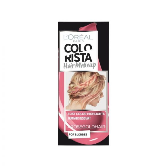 L'Oreal Paris COLORISTA HAIR MAKEUP ROSEGOLD