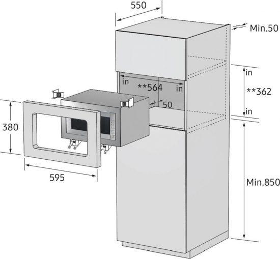 VGR. Mikrovalovna pečica SAMSUNG FG87SST/BOL