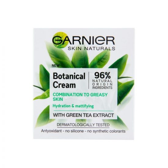 Garnier SKIN NATURALS BOTANICAL CREAM GREEN TEA 50ML