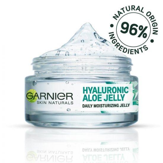 Garnier Garnier Skin Naturals Hyaluronic Aloe Jelly vlažilni gel za obraz za normalno kožo 50 ml 1