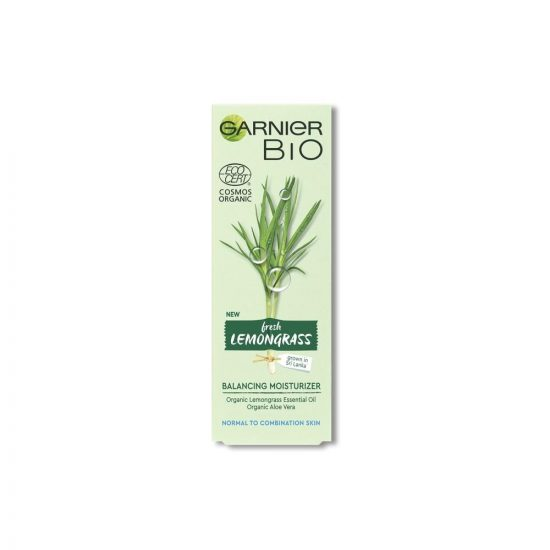 Garnier Garnier Bio Lemongrass vlažilna krema za uravnoteženo kožo 50 ml
