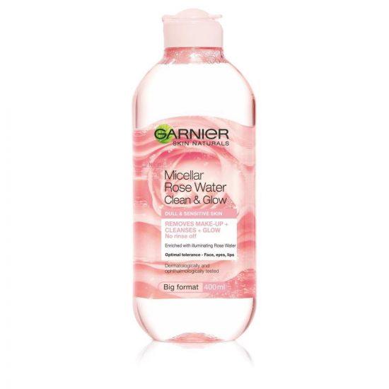 Garnier Garnier Skin Naturals Rose micelarna voda z rožno vodo 400 ml