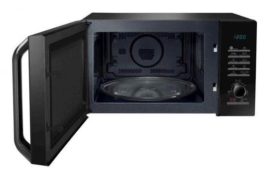 Konvekcijska mikrovalovna pečica Samsung MC28H5135CK/OL črne barve
