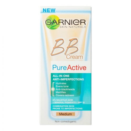 Garnier SKIN NATURALS PURE ACTIVE BB MEDIUM 50ML
