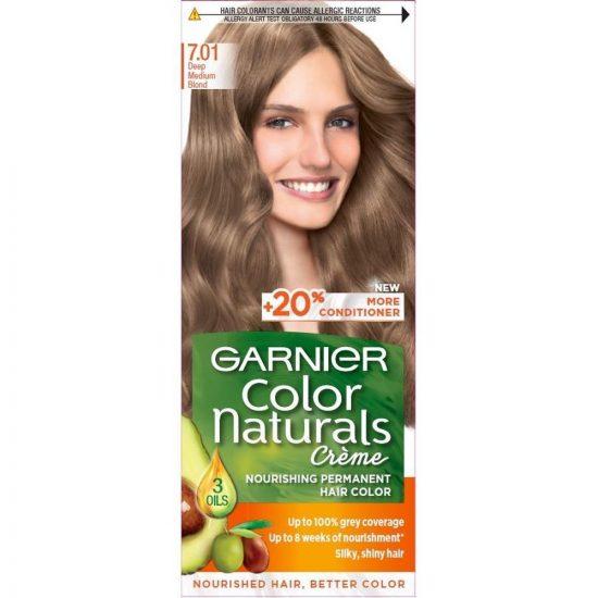 Garnier COLOR NATURALS BARVA ZA LASE 7.01