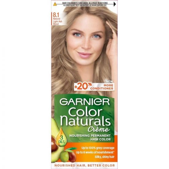 Garnier COLOR NATURALS BARVA ZA LASE 8.1