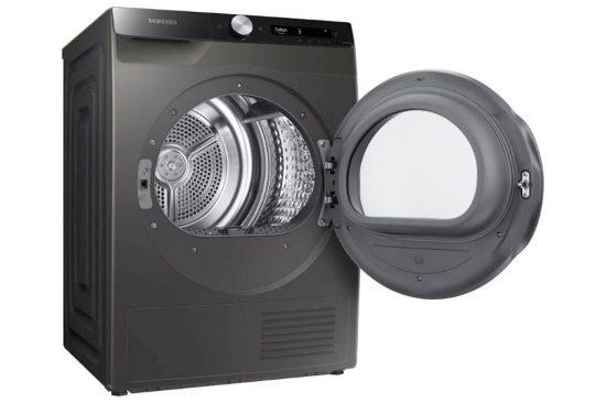 Sušilni stroj SAMSUNG DV80T5220AX/S7 8kg inox  s toplotno črpalko