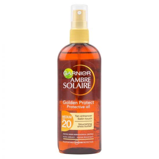 Garnier Garnier Ambre Solaire Golden Protect olje v spreju SPF20 150ml