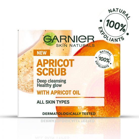 Garnier Garnier Skin Naturals Apricot Scrub piling + maska za obraz 50 ml