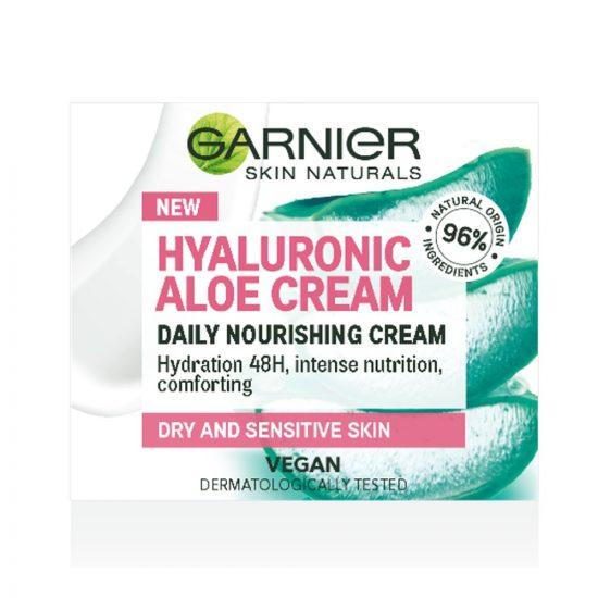 Garnier Garnier Skin Naturals Hyaluronic Aloe hranilna krema 50 ml