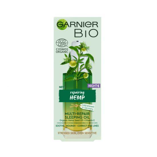 Garnier Garnier Bio Hemp nočno olje 30 ml