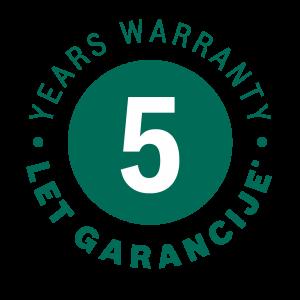 B 2021-04 logo 5 let garancije