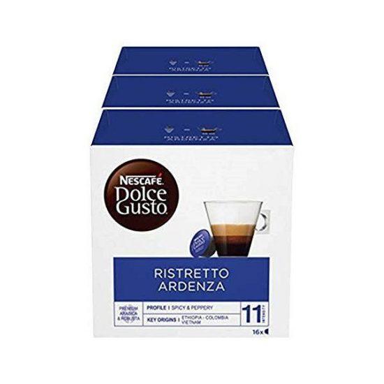 NESTLE DG Espresso Ristretto Ardenza 3pak (3x 16 kapsul)
